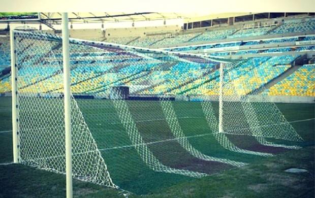 Rede Fluminense Maracanã jogo contra o Goiás (Foto: Reprodução / Instagram)