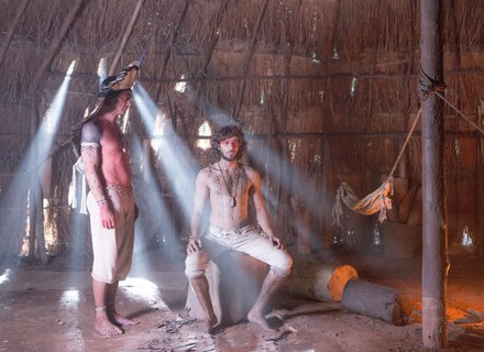 Joaquim torna-se Tinga, um índio guerreiro