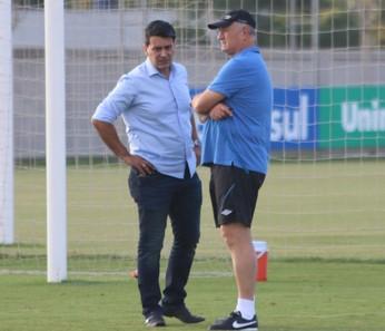 Diretor executivo Rui Costa Felipão Grêmio (Foto: Eduardo Moura/GloboEsporte.com)