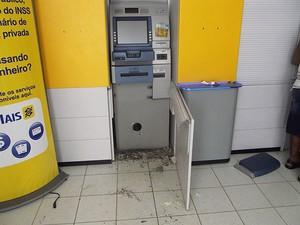 caixa eletrônico (Foto: Ubatã Notícias)