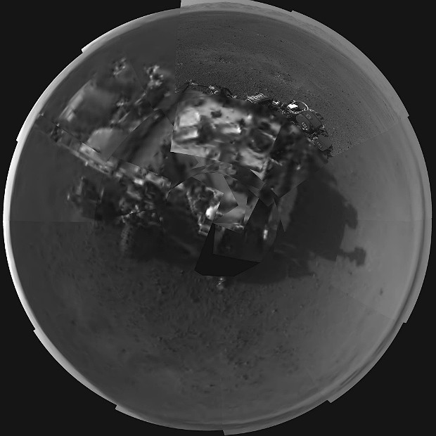 Curiosity autorretrato (Foto: Nasa/JPL-Caltech)