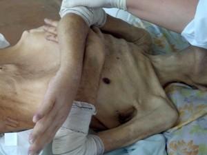 Carlos chegou vivo ao pronto-socorro (Foto: Divulgação/Polícia Civil)