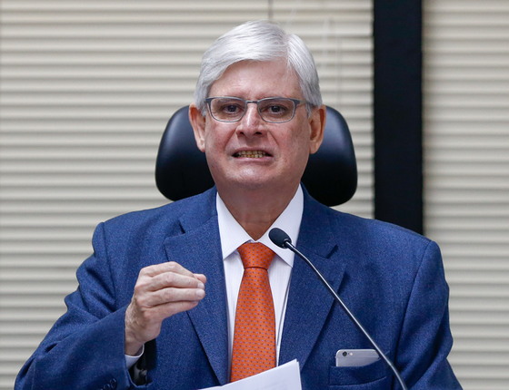 O procurador-geral da República, Rodrigo Janot (Foto:  Pedro Ladeira/Folhapress)