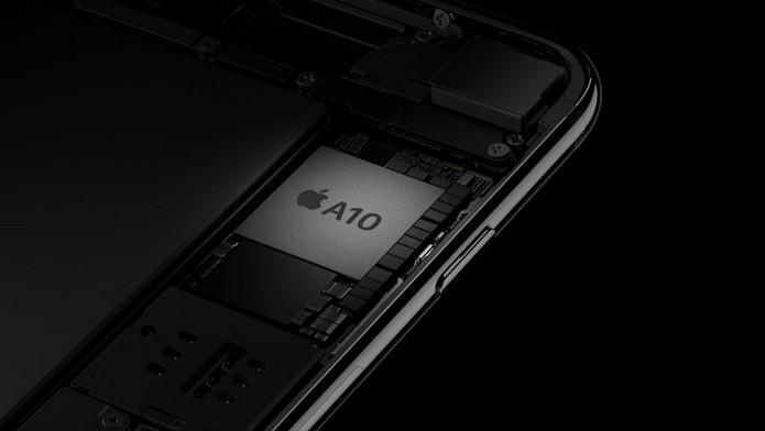 iPhone 7 Plus traz processador A10 Fusion, primeiro quad-core usado pela Apple em celular (Foto: Divulgação/Apple)