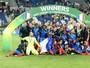 Após decepção na Euro, França goleia Itália e é campeã Europeia Sub-19