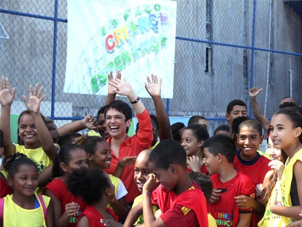Globo Cidadania especial no espaço criança esperança do rio de janeiro (Foto: Divulgação/Teresa Tavares)