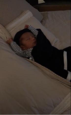 Miguel, filho de Letícia Santiago (Foto: Reprodução / Instagram)