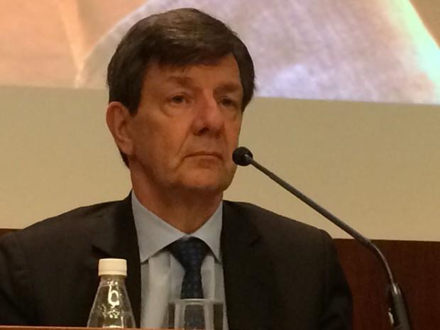 Setúbal completou 62 anos em outubro, idada máxima para a presidência do banco (Foto: Darlan Alvarenga/G1)