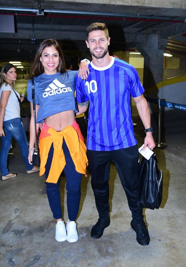 Mari Gonzalez e Jonas Sulzbach (Foto: Leo Franco/AgNews)