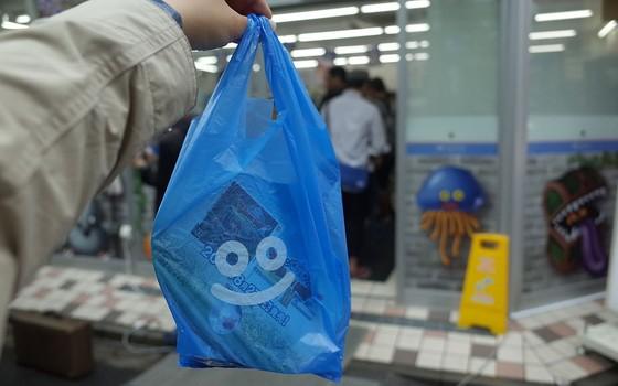 Sacola plástica no Japão (Foto: Wikimedia/ SA 2.0)