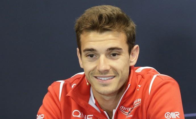 Jules Bianchi coletiva de imprensa GP da Bélgica (Foto: Reuters)