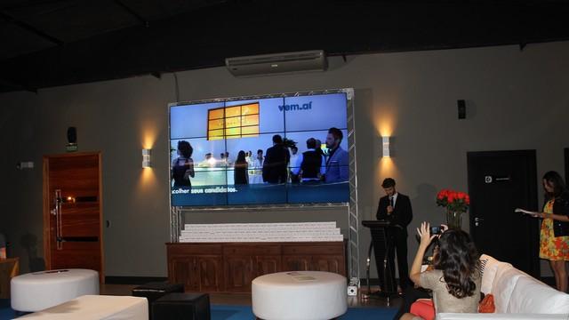 Miguel Thiré apresenta festa do Vem_ai no Piauí  (Foto: Katylenin França)