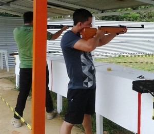 1ª etapa da competição foi realizada no pesqueiro Manto Verde, em Rio Branco (Foto: Catep/Divulgação)