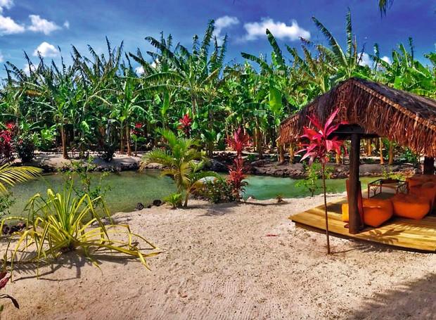 Relax total em contato com a natureza: a cerca de uma hora do vilarejo, o Tao Paradise é refúgio ideal para um dia de descanso e boa mesa (Foto: Divulgação)