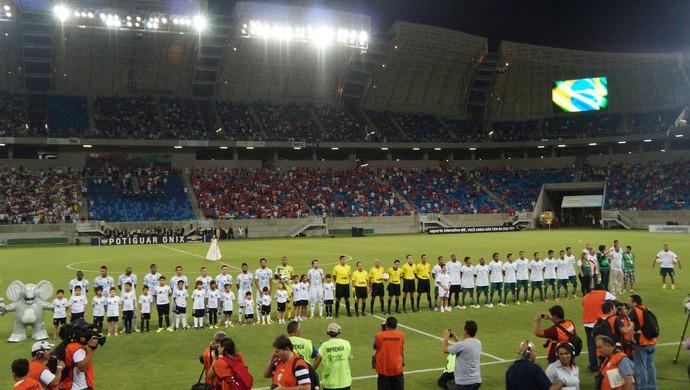ABC estreia com vitória na Arena das Dunas, em Natal (Foto: Augusto Gomes)
