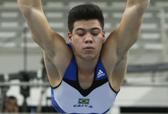 Sérgio Sasaki, ginástica (Foto: Ricardo Bufolin/CBG)