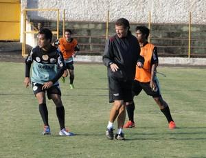 Gil Baiano em treino do Comercial (Foto: Gabriel Lopes / Comercial FC)