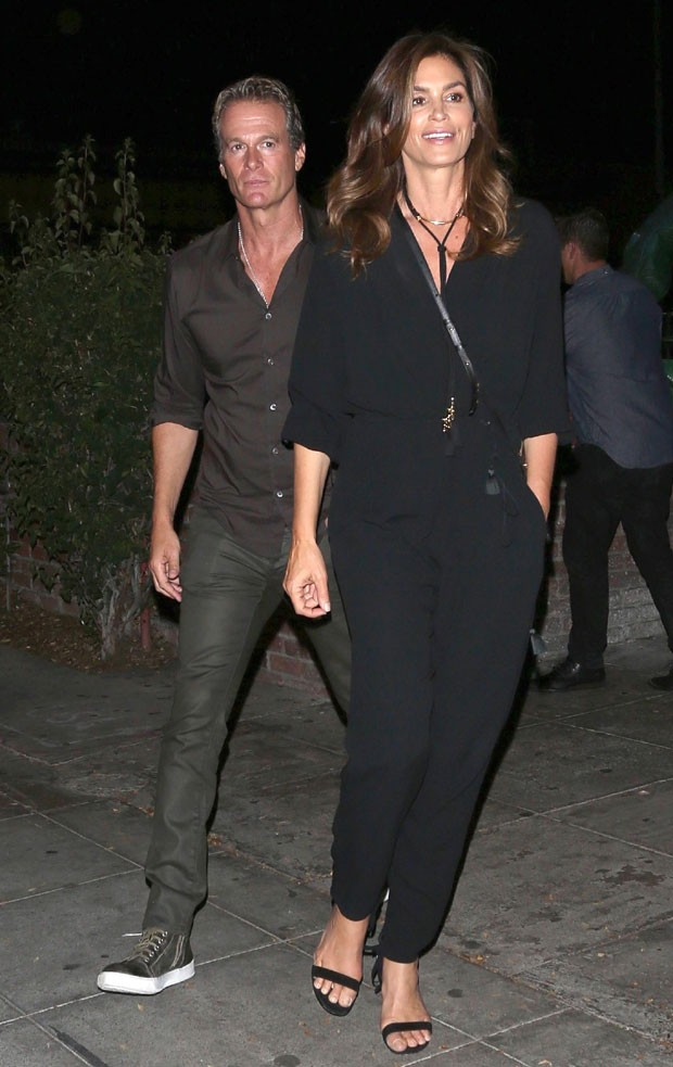 Rande Gerber e Cindy Crawford (Foto: The Grosby Group)