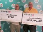 Dois irmãos ganham no mesmo sorteio de loteria nos EUA