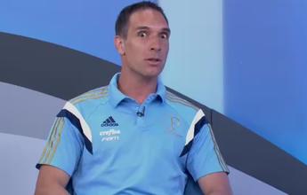 """Prass """"esbarra"""" com R. Oliveira em banco e assusta caixa palmeirense"""