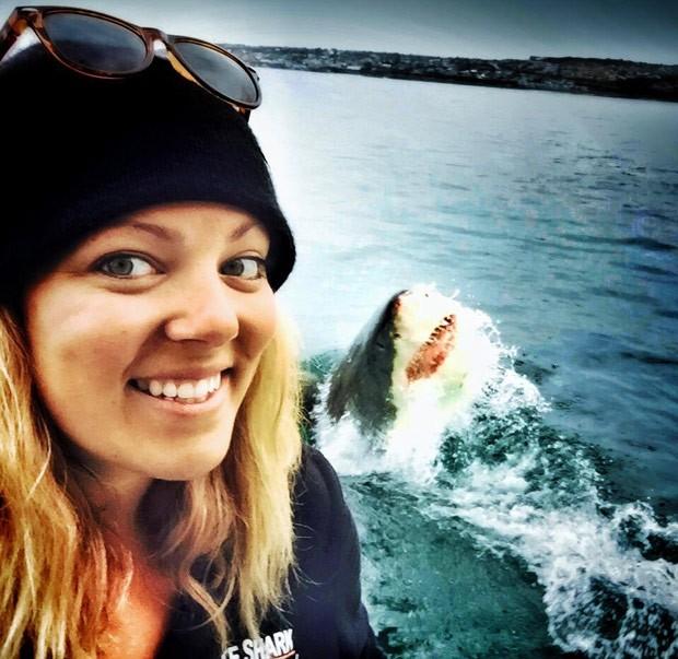 Amanda Brewer negou que tenha manipulado fotos no photoshop (Foto: Reprodução/Facebook/Amanda Brewer)