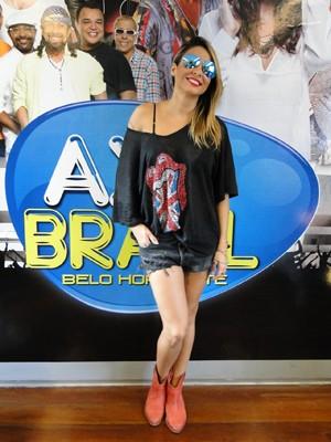 Cantora Alinne Rosa se apresenta em Belo Horizonte nesta quinta (4). (Foto: Sara Antunes / G1)