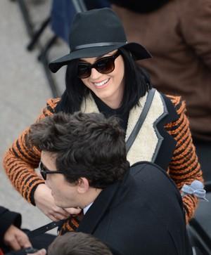 Katy Perry e John Mayer na posse de Obama (Foto: Stan Honda / AFP / Agência)
