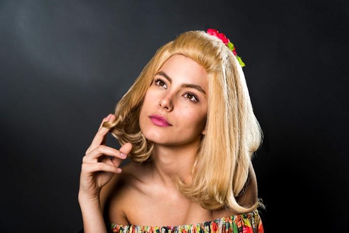 Babalu não soltava o cabelo (Foto: Ellen Soares / Gshow)