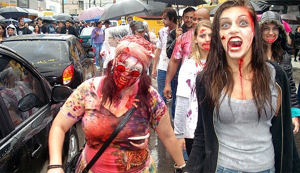 Zombie Walk  (Foto: Divulgação/ RPC TV)