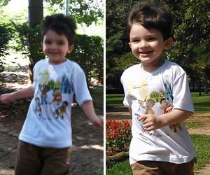 foto celular criança (Foto: G1)