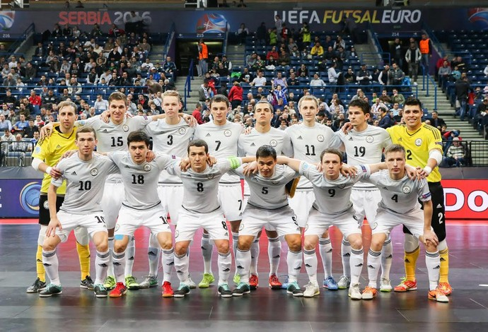 Cazaquistão Uefa Futsal Euro (Foto: Divulgação/Uefa)