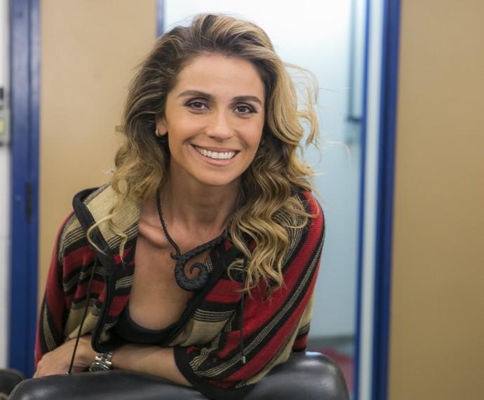 Giovanna Antonelli diz ser uma mulher prática em seu dia a dia (Foto: Inácio Moraes/ Gshow)