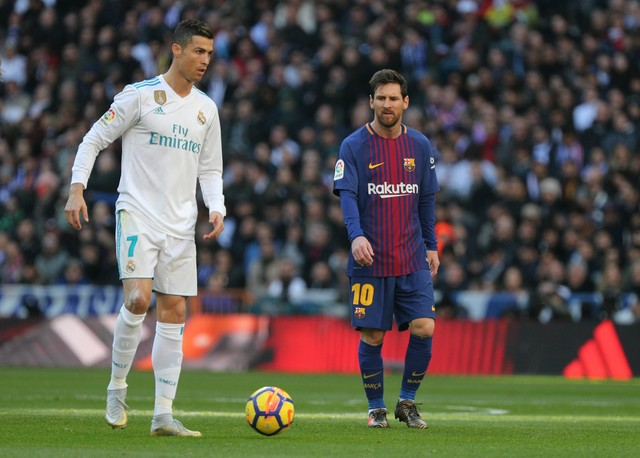Real Madrid x Barcelona - Campeonato Espanhol 2017-2018 ... a8ce44f700d9f