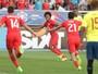 Já classificado, Chile vence Equador e garante primeira posição do Grupo A