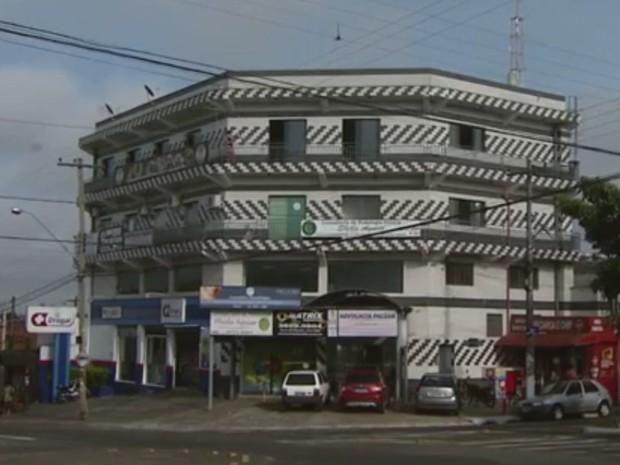 Sede da empresa em Hortolândia. Rio Tele já atuava no mercado há quatro anos. (Foto: Reprodução EPTV)