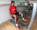 Sem Durval e Diego Souza, Daniel mantém estrutura e faz testes no Sport