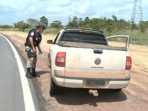 Durante operação, PRF fiscalizou 953 veículos nas estradas federais do Amapá (Foto: Reprodução/TV Amapá)