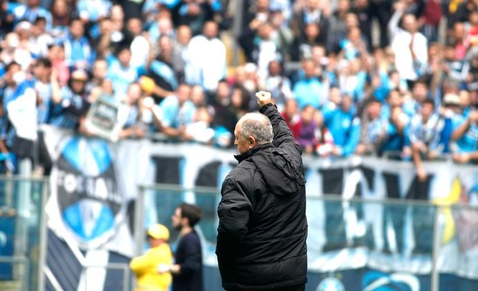 Felipão Apresentação Grêmio (Foto: Wesley Santos / Agência estado)