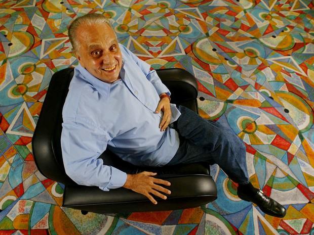 Retrato de Jorge Dória feito em 2004 em São Paulo (Foto: Eduardo Knapp/Folhapress)