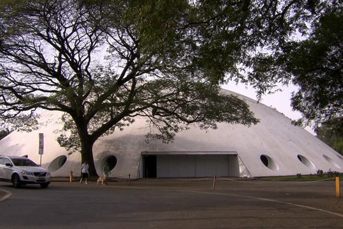 Museu da Oca, no Parque Ibirapuera, em São Paulo