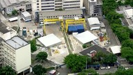 Buraco do metrô da Gávea está sendo inundado para prevenir deslocamentos de terra