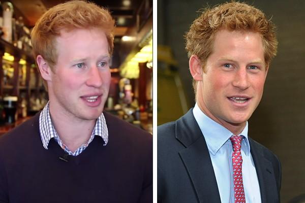Matt Hicks é sósia do Príncipe Harry (Foto: Reprodução / Getty Images)