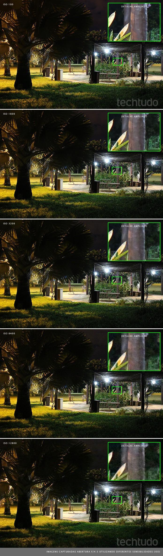 Imagens obtidas com altas sensibilidades apresentam nível mínimo de ruído para uma DSLR de entrada (Foto: Adriano Hamaguchi/TechTudo)