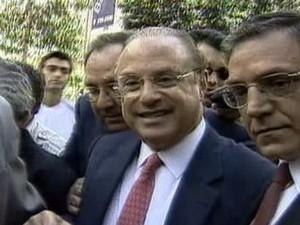 Paulo Maluf é condenado a devolver R$ 58 milhões para os cofres de SP (Foto: Reprodução Globo News)