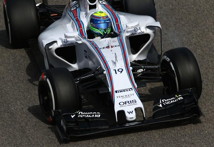 Felipe Massa, Williams, nos treinos livres do GP do Bahrein, Fórmula 1 (Foto: Getty Images)