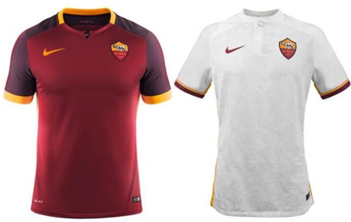 Camisas Champions Roma