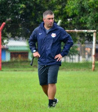Pablo Fernandez técnico São José dos Campos FC (Foto: Danilo Sardinha/GloboEsporte.com)