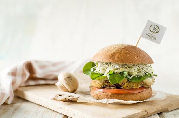 O Grand Veggie Burger da General Prime (Foto: Tadeu Brunelli)