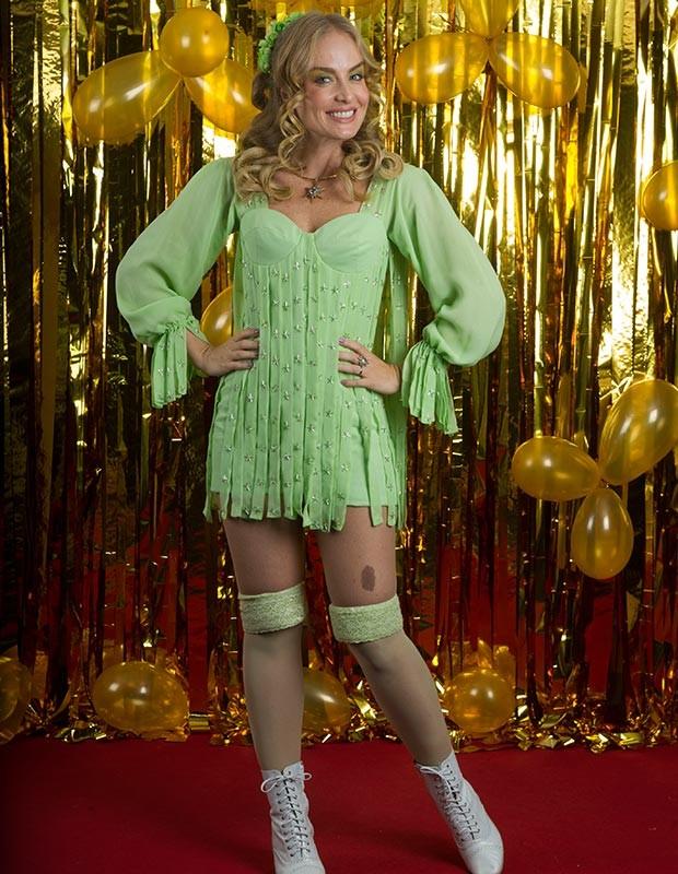 Fada Bela é você? Angélica relembra famosa personagem no show (Foto: Globo/Renato Rocha Miranda)