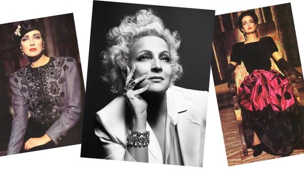 Atriz e modelo, Betty foi uma das primeiras brasileiras a fazer sucesso no exterior (Foto: Divulgação e Reprodução)